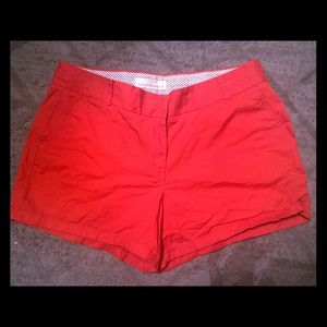 J Crew Red Chino Shorts - Size 12